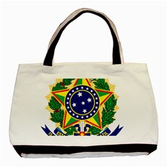 Coat of Arms of Brazil Basic Tote Bag