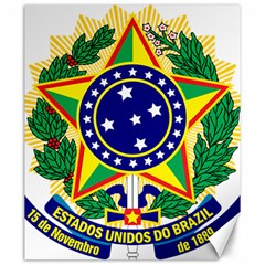 Coat of Arms of Brazil Canvas 20  x 24