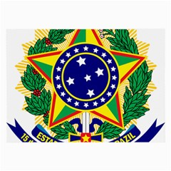 Coat of Arms of Brazil Large Glasses Cloth