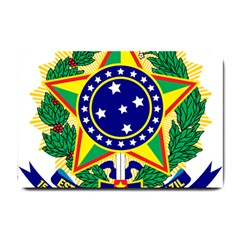 Coat of Arms of Brazil Small Doormat