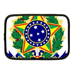 Coat of Arms of Brazil Netbook Case (Medium)