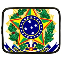 Coat of Arms of Brazil Netbook Case (Large)