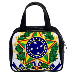 Coat of Arms of Brazil Classic Handbags (2 Sides)