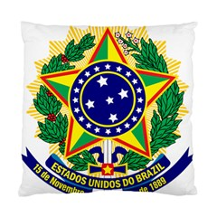 Coat of Arms of Brazil Standard Cushion Case (One Side)