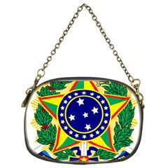 Coat of Arms of Brazil Chain Purses (Two Sides)