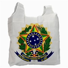 Coat of Arms of Brazil Recycle Bag (Two Side)