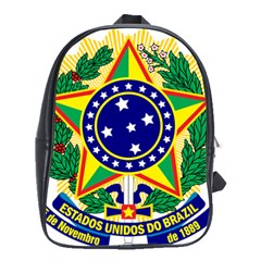 Coat of Arms of Brazil School Bags(Large)