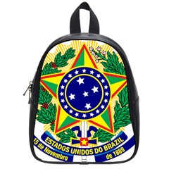 Coat of Arms of Brazil School Bags (Small)