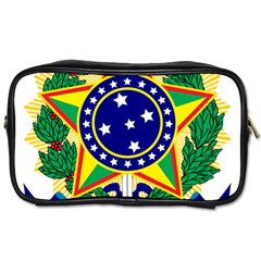 Coat of Arms of Brazil Toiletries Bags