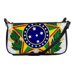 Coat of Arms of Brazil Shoulder Clutch Bags