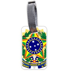 Coat of Arms of Brazil Luggage Tags (Two Sides)