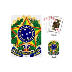 Coat of Arms of Brazil Playing Cards (Mini)