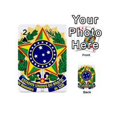Coat of Arms of Brazil Playing Cards 54 (Mini)