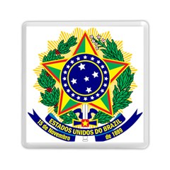 Coat of Arms of Brazil Memory Card Reader (Square)