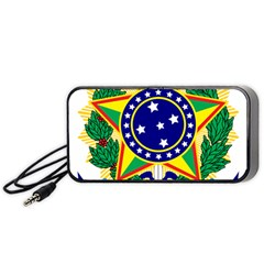 Coat of Arms of Brazil Portable Speaker (Black)