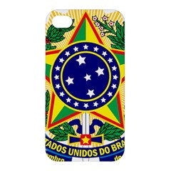 Coat of Arms of Brazil Apple iPhone 4/4S Hardshell Case