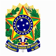 Coat of Arms of Brazil Large Garden Flag (Two Sides)