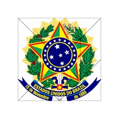Coat of Arms of Brazil Acrylic Tangram Puzzle (4  x 4 )