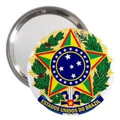 Coat of Arms of Brazil 3  Handbag Mirrors