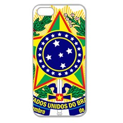 Coat of Arms of Brazil Apple Seamless iPhone 5 Case (Clear)