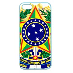 Coat of Arms of Brazil Apple Seamless iPhone 5 Case (Color)