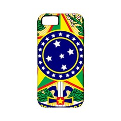 Coat of Arms of Brazil Apple iPhone 5 Classic Hardshell Case (PC+Silicone)