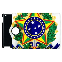 Coat of Arms of Brazil Apple iPad 2 Flip 360 Case
