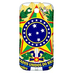 Coat of Arms of Brazil Samsung Galaxy S3 S III Classic Hardshell Back Case