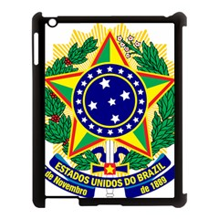 Coat of Arms of Brazil Apple iPad 3/4 Case (Black)