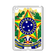 Coat of Arms of Brazil iPad Mini 2 Enamel Coated Cases