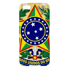 Coat of Arms of Brazil Apple iPhone 5 Premium Hardshell Case