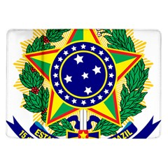 Coat of Arms of Brazil Samsung Galaxy Tab 10.1  P7500 Flip Case