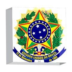 Coat of Arms of Brazil 5  x 5  Acrylic Photo Blocks