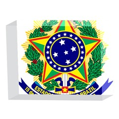 Coat of Arms of Brazil 5 x 7  Acrylic Photo Blocks