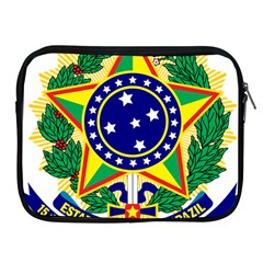 Coat of Arms of Brazil Apple iPad 2/3/4 Zipper Cases
