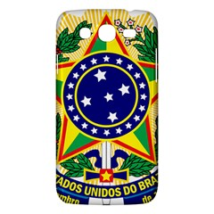 Coat of Arms of Brazil Samsung Galaxy Mega 5.8 I9152 Hardshell Case