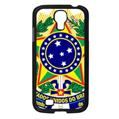 Coat of Arms of Brazil Samsung Galaxy S4 I9500/ I9505 Case (Black)
