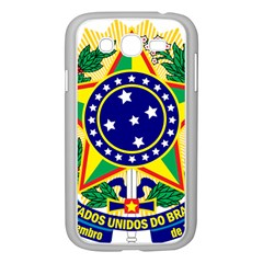 Coat of Arms of Brazil Samsung Galaxy Grand DUOS I9082 Case (White)