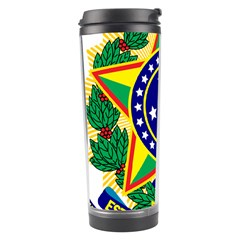 Coat of Arms of Brazil Travel Tumbler