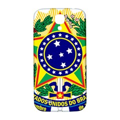 Coat of Arms of Brazil Samsung Galaxy S4 I9500/I9505  Hardshell Back Case