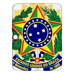 Coat of Arms of Brazil Samsung Galaxy Tab 3 (10.1 ) P5200 Hardshell Case