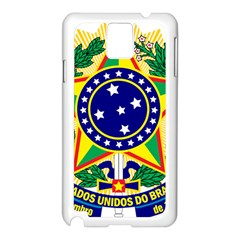 Coat of Arms of Brazil Samsung Galaxy Note 3 N9005 Case (White)
