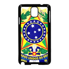 Coat of Arms of Brazil Samsung Galaxy Note 3 Neo Hardshell Case (Black)