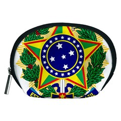 Coat of Arms of Brazil Accessory Pouches (Medium)