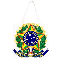 Coat of Arms of Brazil Grocery Light Tote Bag