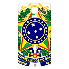 Coat of Arms of Brazil Galaxy Note 4 Back Case