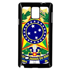 Coat of Arms of Brazil Samsung Galaxy Note 4 Case (Black)