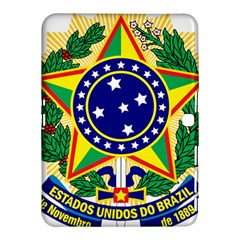 Coat of Arms of Brazil Samsung Galaxy Tab 4 (10.1 ) Hardshell Case