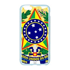 Coat of Arms of Brazil Apple Seamless iPhone 6/6S Case (Color)