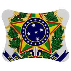 Coat of Arms of Brazil Jigsaw Puzzle Photo Stand (Bow)
